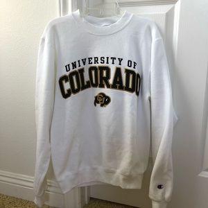 University of Colorado Boulder pullover